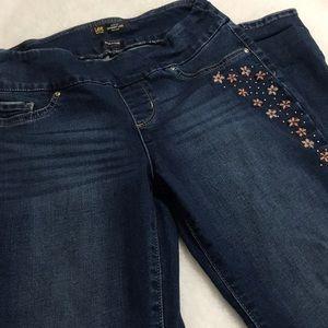 Women's Lee Slim Fit Skinny Leg Mid Rise Jeans